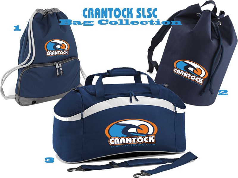 Crantock SLSC Bag Collection